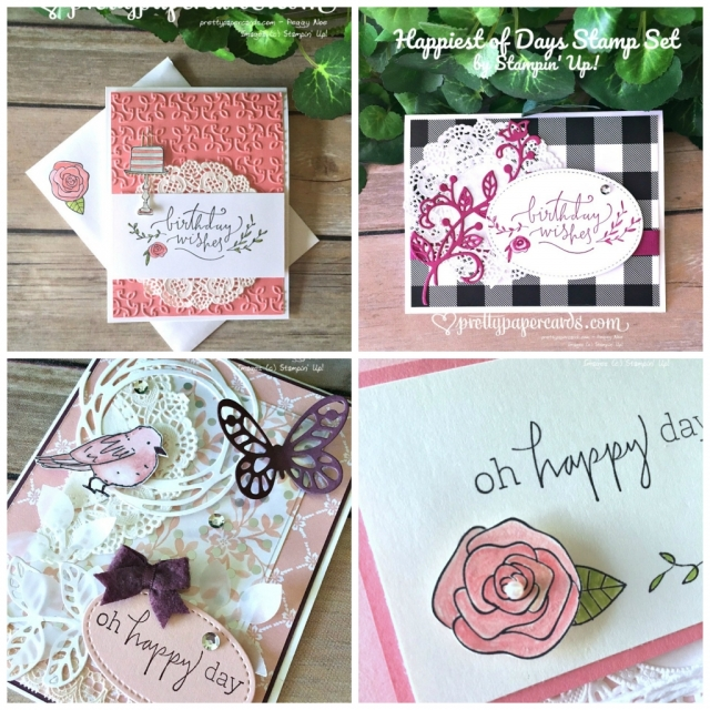 Stampin' Up! Happiest of Days - Peggy Noe - stampinup