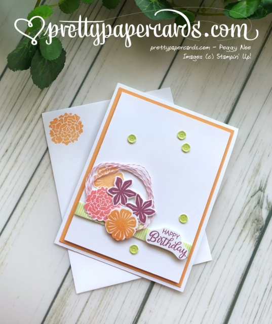 Stampin' Up! Happy Beautiful Birthday - Peggy Noe - stampinup
