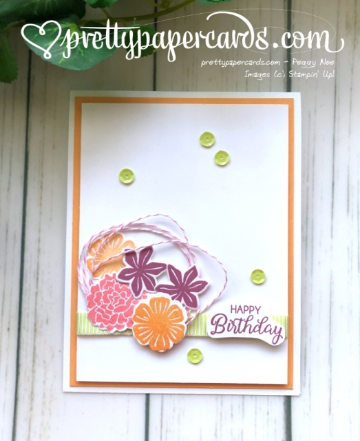 Stampin' Up! Happy Beautiful Birthday - Prettypapercards - stampinup