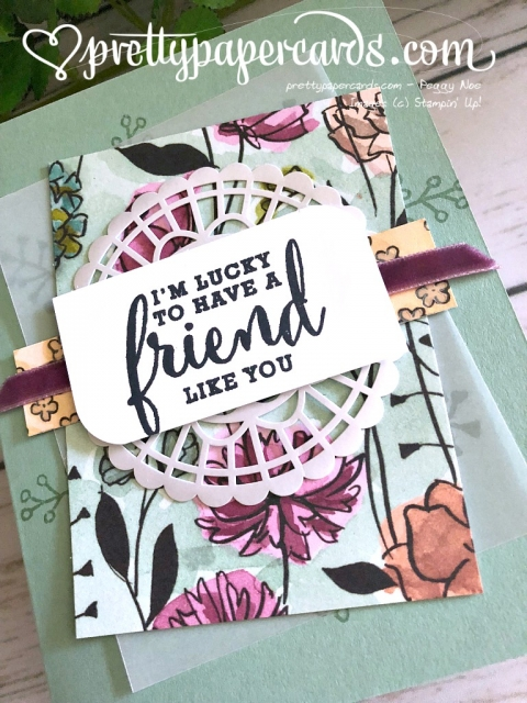 Stampin' Up! Love What You Do - Prettypapercards - stampinup