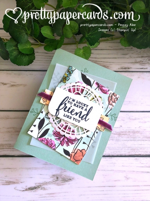 Stampin' Up! Love What Yu Do Stamp Set - Peggy Noe - stampinup