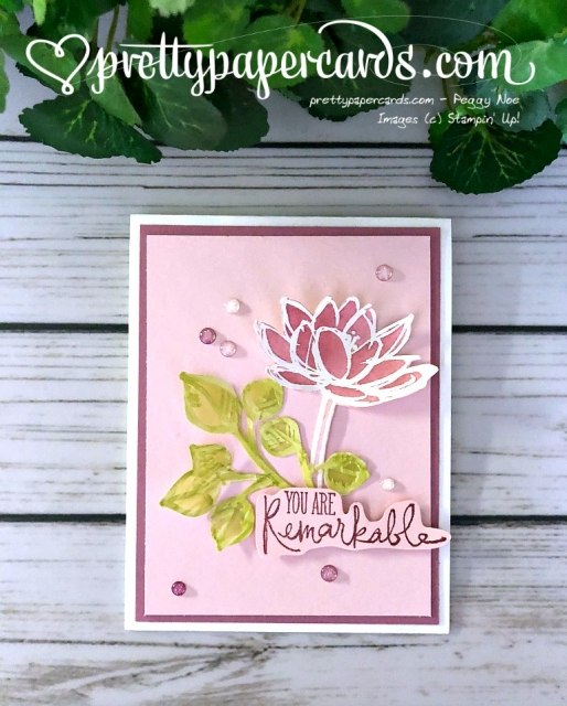 Stampin' Up! Remarkable You - Peggy Noe - stampinup