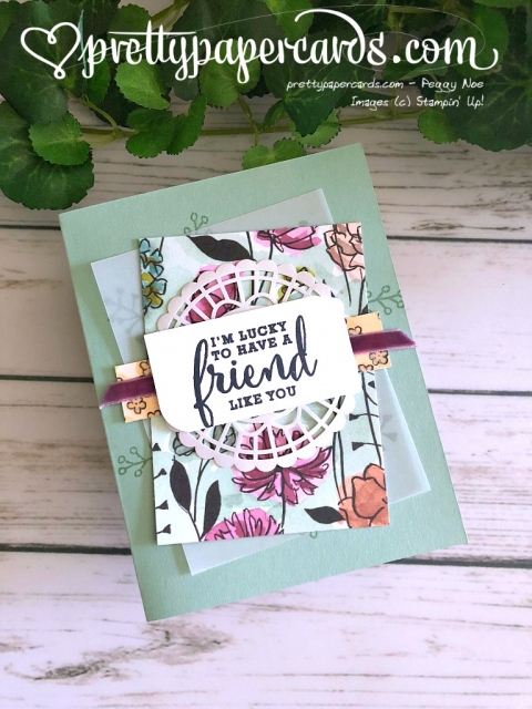 Stampin' Up! Share What You Love Stamp Set - Prettypapercards - stampinup