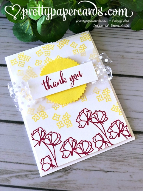 Stampin' Up! Share What You Love Tic Tac Toe - Prettypapercards - stampinup