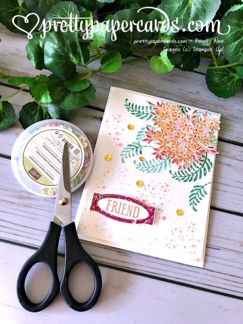 Stampin' Up! Awesomely Artistic Stamp Set - Peggy Noe - stampinup