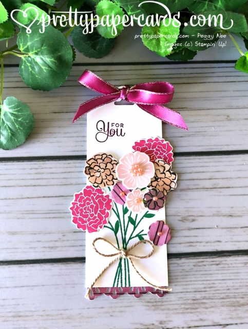 Stampin' Up! Beautiful Bouquet - Pretty Paper Cards - stampinup