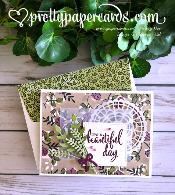 Stampin' Up! Beautiful Bunch - prettypapercards - stampinup