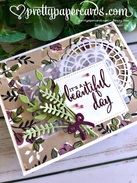 Stampin' Up! Beautiful Day - Peggy Noe - stampinup