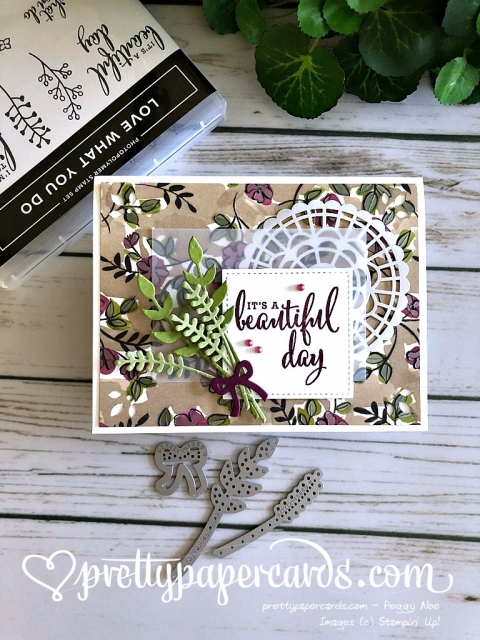 Stampin' Up! Bouquet Bunch - Peggy Noe - stampinup