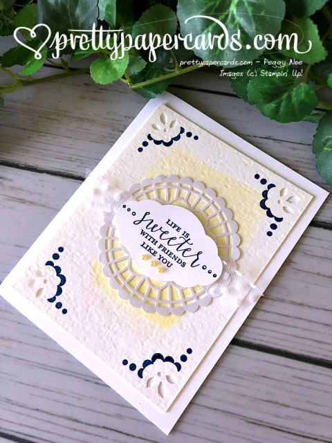 Stampin' Up! Detailed With Love Bundle - Pretty Paper Cards - stampinup