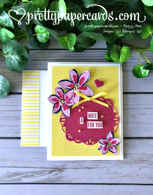 Stampin' Up! Garden Impressions - Peggy Noe - stampinup