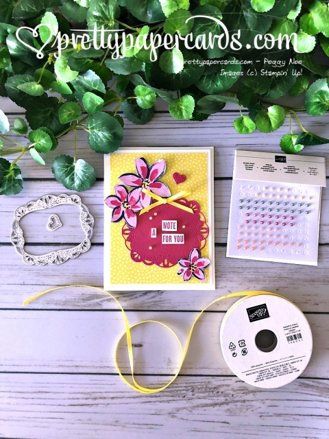 Stampin' Up! Garden Impressions - Pretty Paper Cards - stampinup