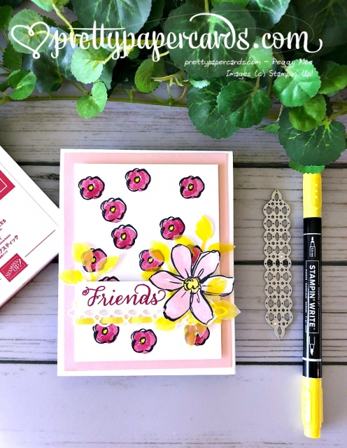 Stampin' Up! Garden in Bloom Card - Peggy Noe - stampinup