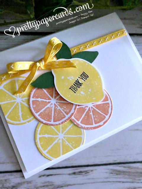 Stampin' Up! Lemon Zest - Peggy Noe - stampinup