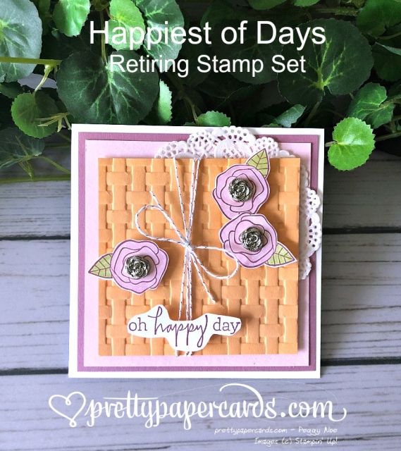 Stampin' Up! Oh Happy Day - Prettypapercards - stampinup