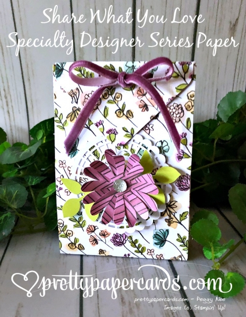 Stampin' Up! Share What You Love Bag - Pretty Paper Cards - stampinup
