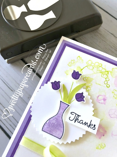 Stampin' Up! Varied Vases Thanks - Peggy Noe - stampinup