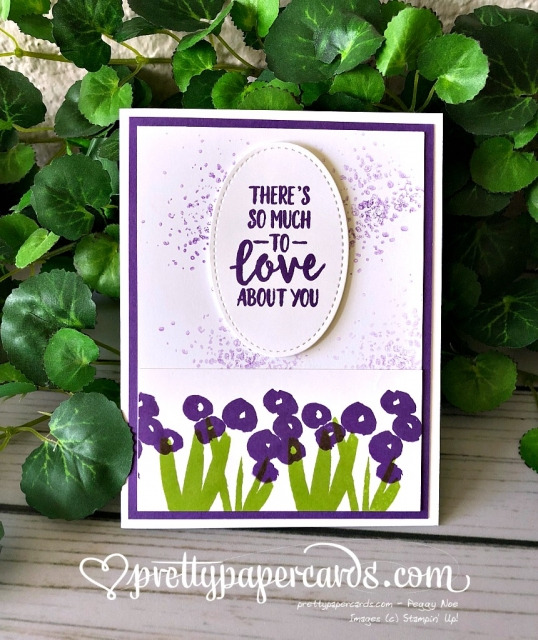 Stampin' Up! Abstract Impressions Card - Peggy Noe - stampinup
