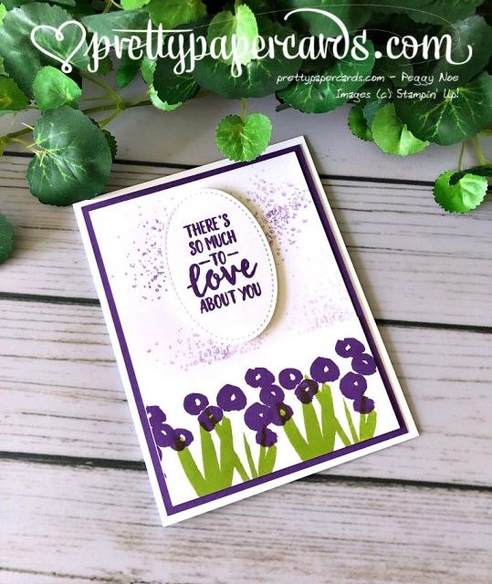 Stampin' Up! Abstract Impressions - Pretty Paper Cards - stampinup