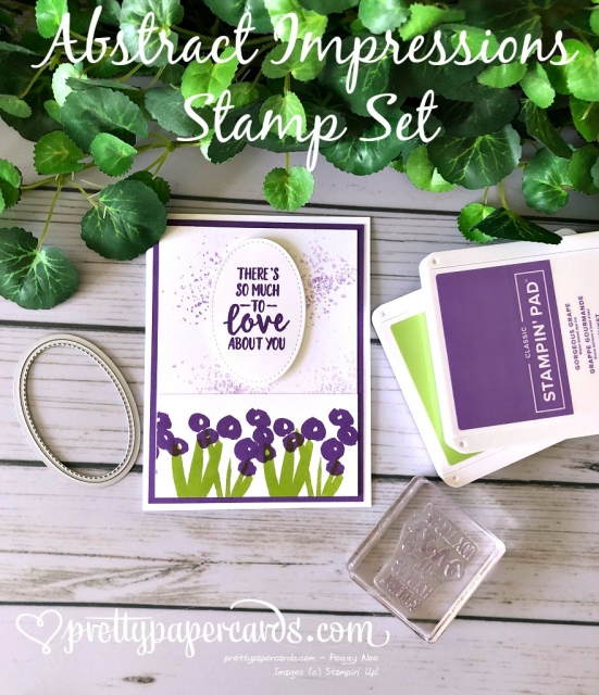 Stampin' Up! Abstract Impressions Stamp Set - Peggy Noe - stampinup