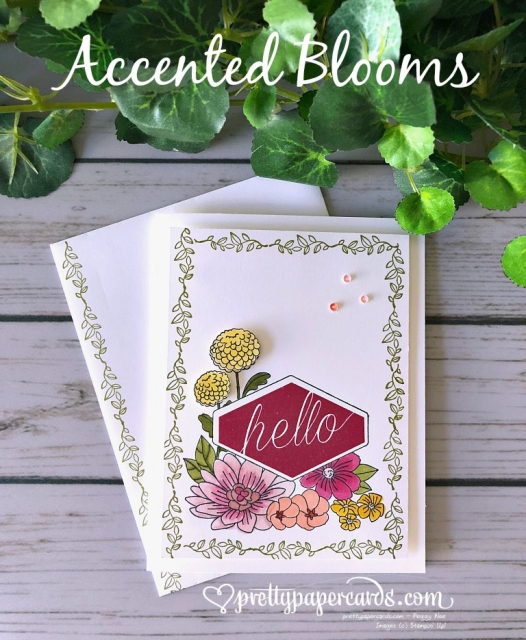 Stampin' Up! Accented Blooms - Pretty Paper Cards - stampinup