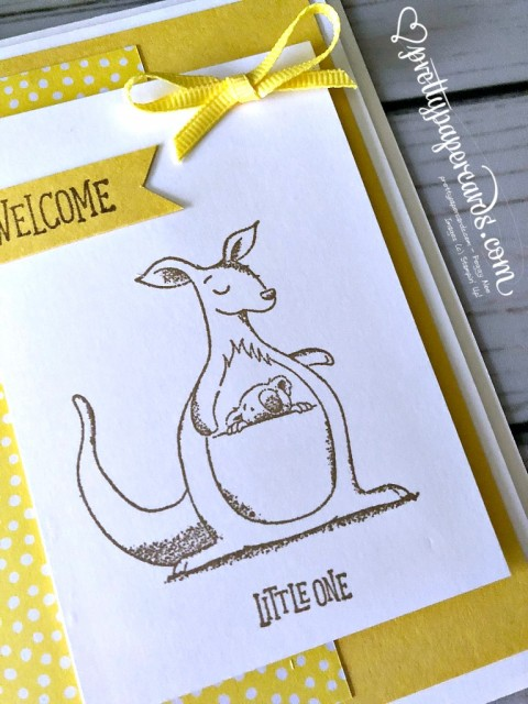 Stampin' Up! Animal Outing Card - Peggy Noe - stampinup