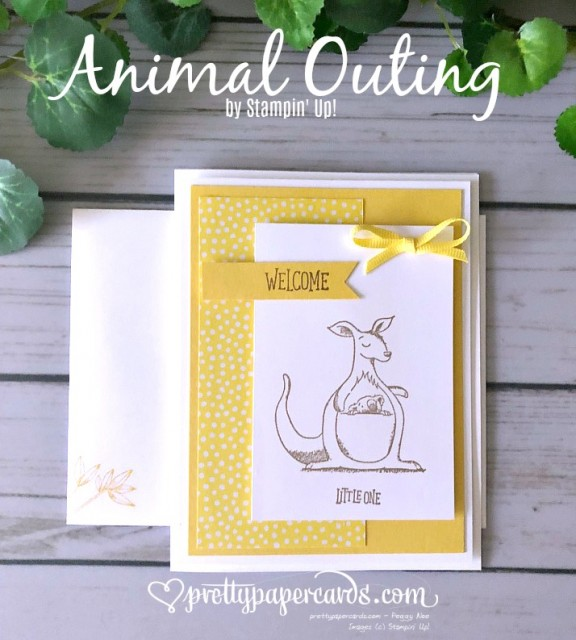 Stampin' Up! Animal Outing Card - Pretty Paper Cards - stampinup