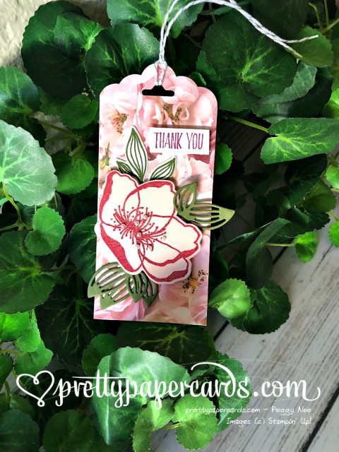 Stampin' Up! Beautiful Promenade Tag - Peggy Noe - stampinup