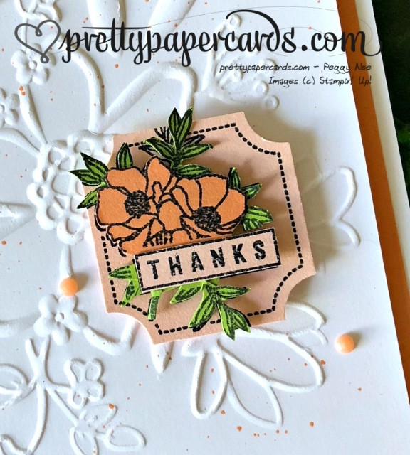 Stampin' Up! Darling Label - Peggy Noe - stampinup