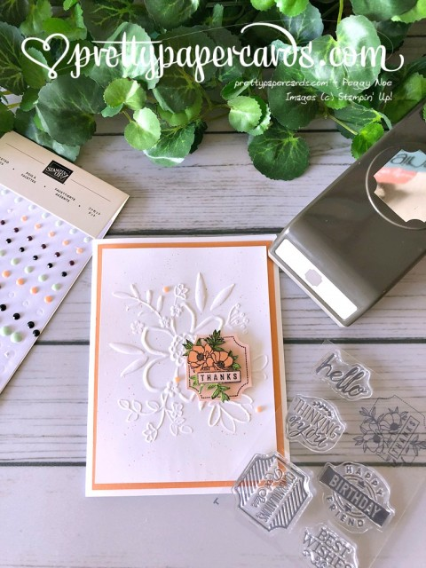 Stampin' Up! Darling Label Punch Box - Peggy Noe - stampinup
