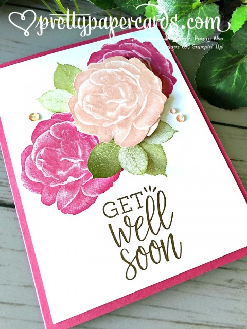 Stampin' Up! Get Well - Peggy Noe - stampinup