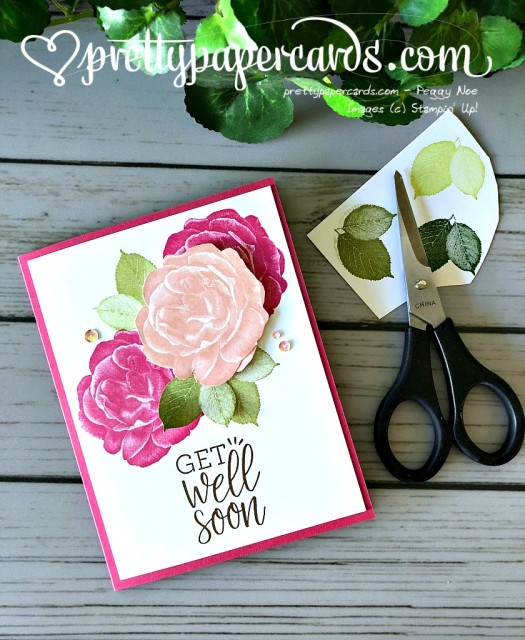Stampin' Up! Healing Hugs Card - Pretty Paper Cards - stampinup