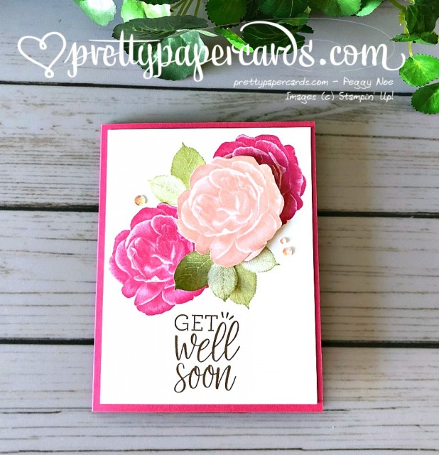 Stampin' Up! Healing Hugs Get Well - Peggy Noe - stampinup