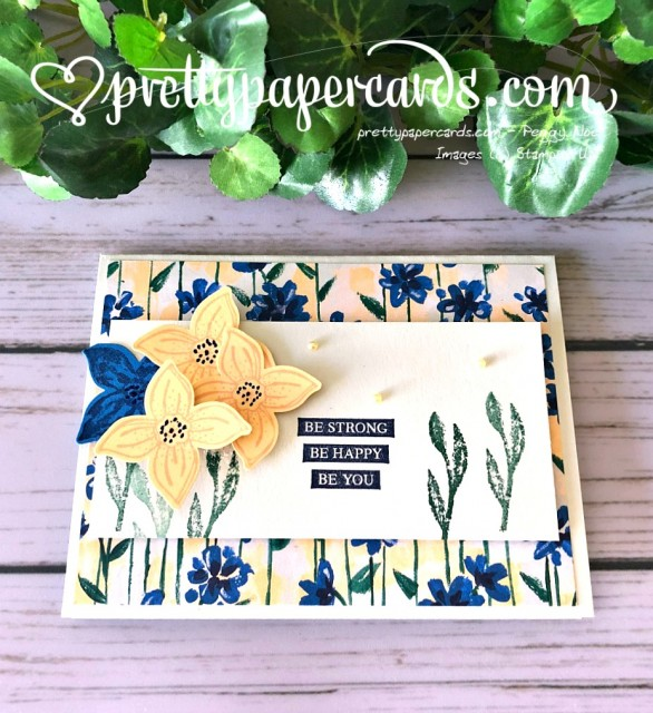 Stampin' Up! Pop of Petals Punch - Pretty Paper Cards - stampinup