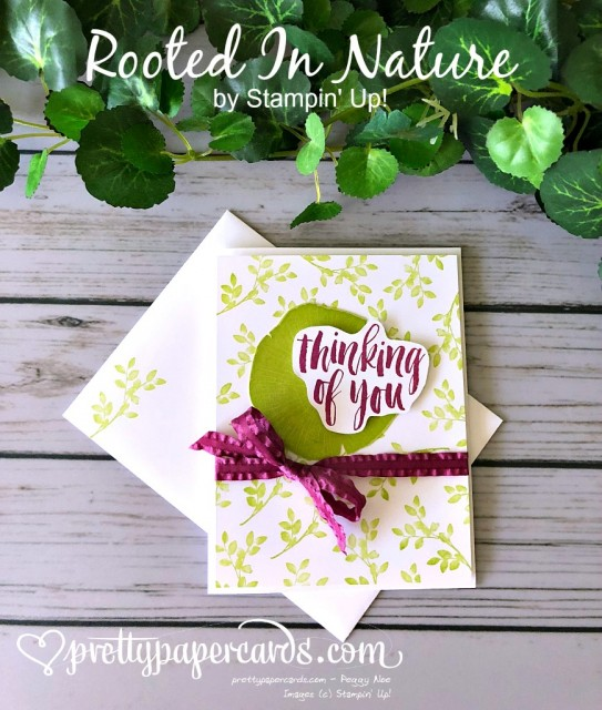Stampin' Up! Rooted In Nature - Peggy Noe - stampinup
