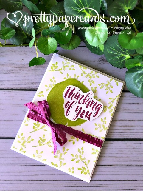 Stampin' Up! Rooted in Nature - Pretty Paper Cards - stampinup