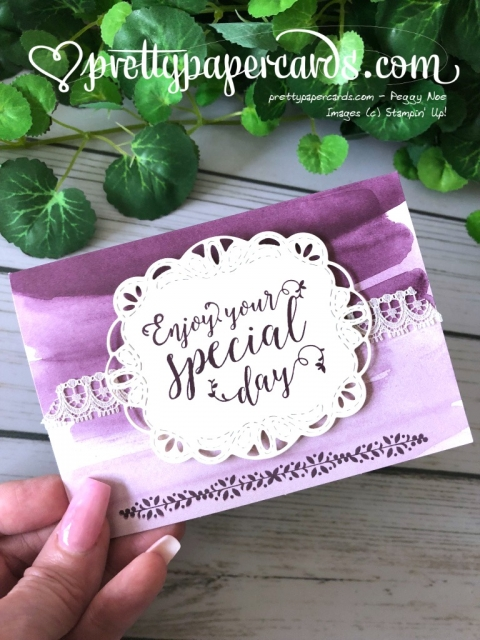 Stampin' Up! Stitched All Around Bundle - Peggy Noe - stampinup