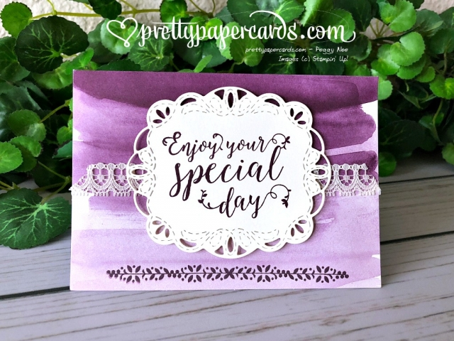 Stampin' Up! Stitched All Around - Peggy Noe - stampinup