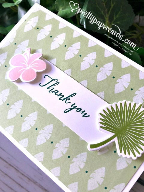 Stampin' Up! Tropical Chic - Pretty Paper Cards - stampinup