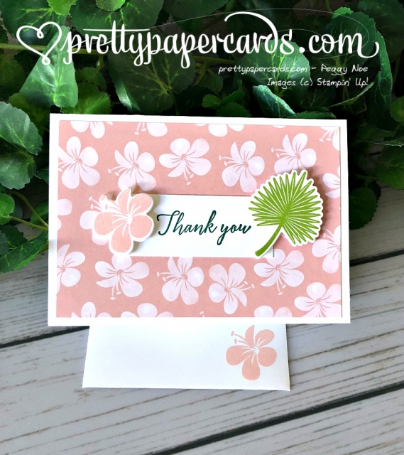Stampin' Up! Tropical Escape - Pretty Paper Cards - stampinup
