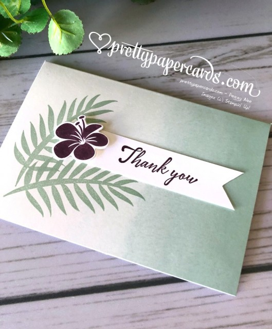 Stampin' Up! Tropical Escape Suite - Prettypapercards - stampinup