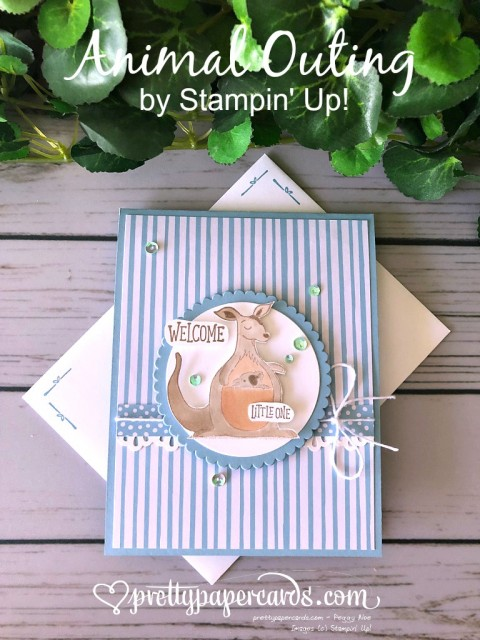 Stampin' Up! Animal Outing - Peggy Noe - stampinup