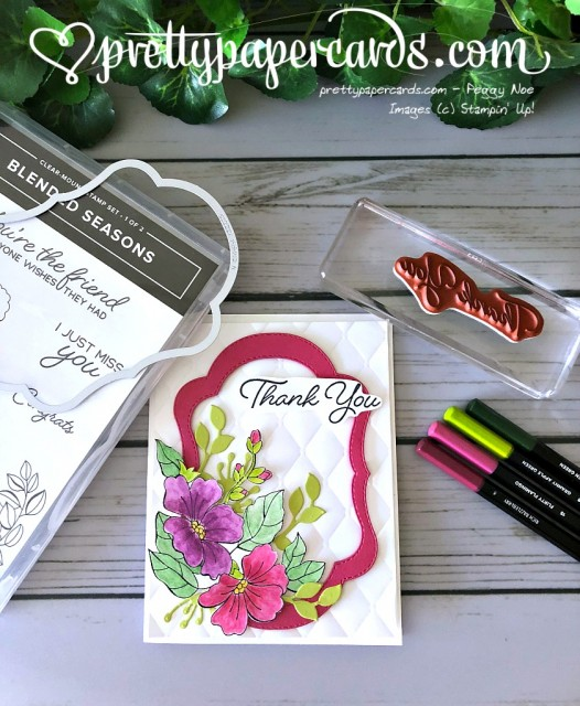 Stampin' Up! Blended Seasons - Peggy Noe - stampinup