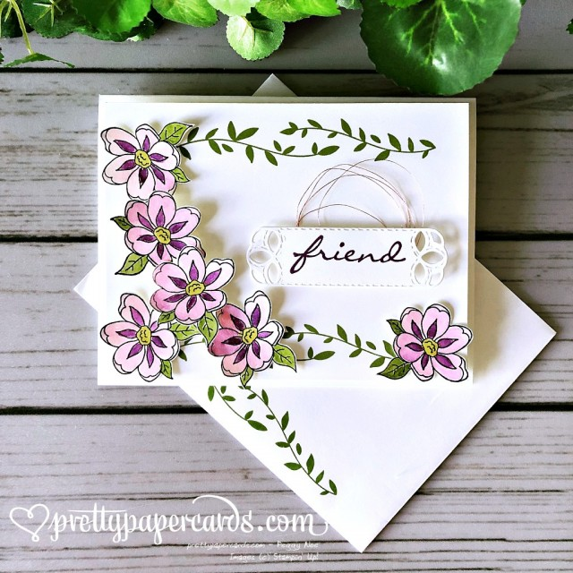 Stampin' Up! Botanical Bliss Friend - Peggy Noe - stampinup