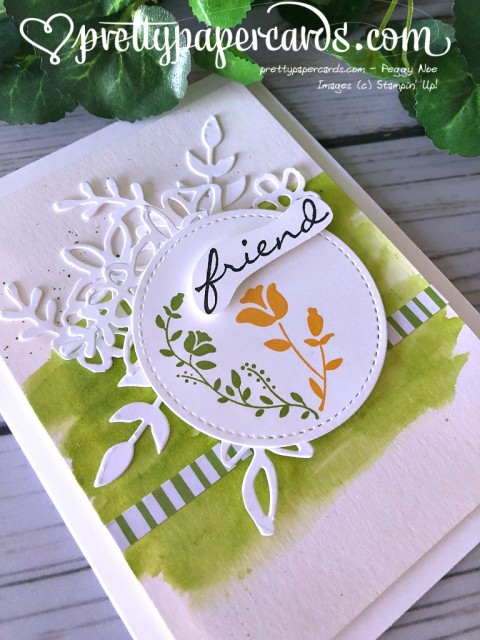 Stampin' Up! Botanical Bliss - Peggy Noe - stampinup