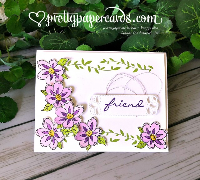 Stampin' Up! Botanical Bliss Stamp Set Card - Peggy Noe - stampinup