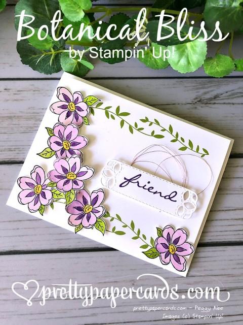 Stampin' Up! Botanical Bliss Stamp Set- Peggy Noe - stampinup