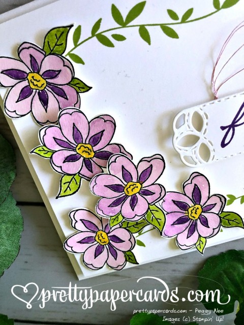 Stampin' Up! Botanical Bliss Stamp Set - Prettypapercards - stampinup