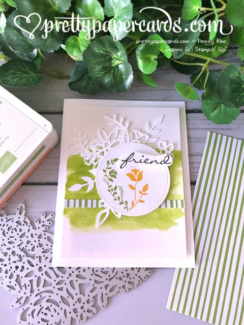 Stampin' Up! Botanical Bliss card - Prettypapercards - stampinup