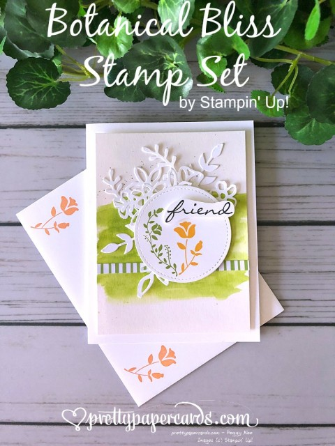 Stampin' Up! Botanical Bliss stamps - Peggy Noe - stampinup